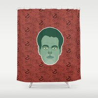 ghostbusters Shower Curtains featuring Raymond Stantz - Ghostbusters by Kuki