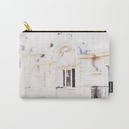 Paris Rooftops Watercolor Carry-All Pouch