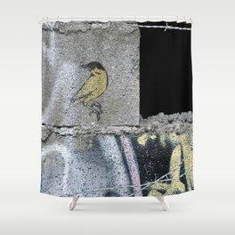 Barbed Bird Shower Curtain