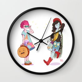 Bubblegum and Marceline Wall Clock