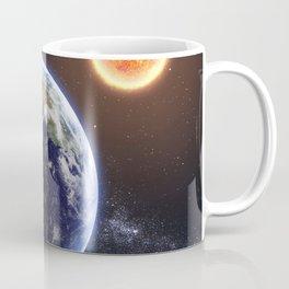 SPACE UNIVERSE GALAXY NEBULA EARTH SUN MOON COSMIC Coffee Mug