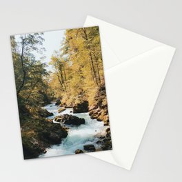 Vintgar Gorge, Slovenia Stationery Cards