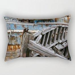 Ship Wreck Rectangular Pillow