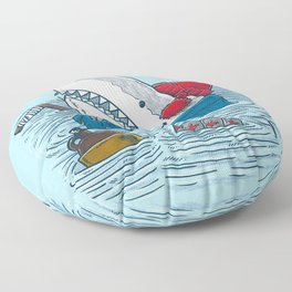 Great White North Shark Floor Pillow