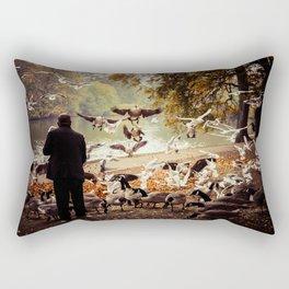 The Birdman Rectangular Pillow