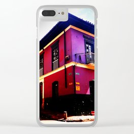 Colonial House Bogota Colombia Clear iPhone Case