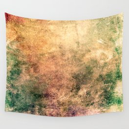 Warm Watercolor Wall Tapestry