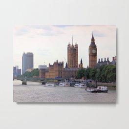 Big Ben, London II Metal Print