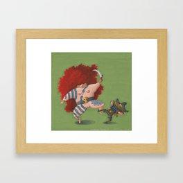 Wild Dance I (Wilder Tanz I) Framed Art Print