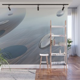 Escaping Area 51 Wall Mural