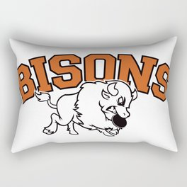 Bisons Ultimate vintage team gears Rectangular Pillow
