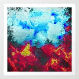#Meandering #Embers - 20160612 Art Print