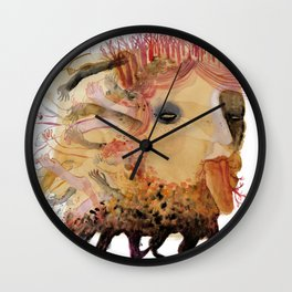 created with subconscious thought Wall Clock