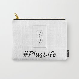 #PlugLife Outlet Carry-All Pouch