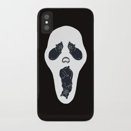 Screaming Cats iPhone Case