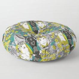 A Midsummer Night's Dream | fairy fantasy | emerald Floor Pillow
