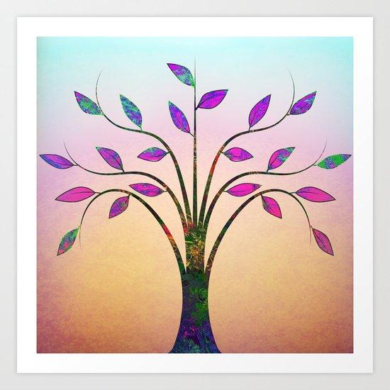 Ornamental Tree Art Print