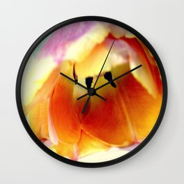 Prone To Love This Tulip Wall Clock