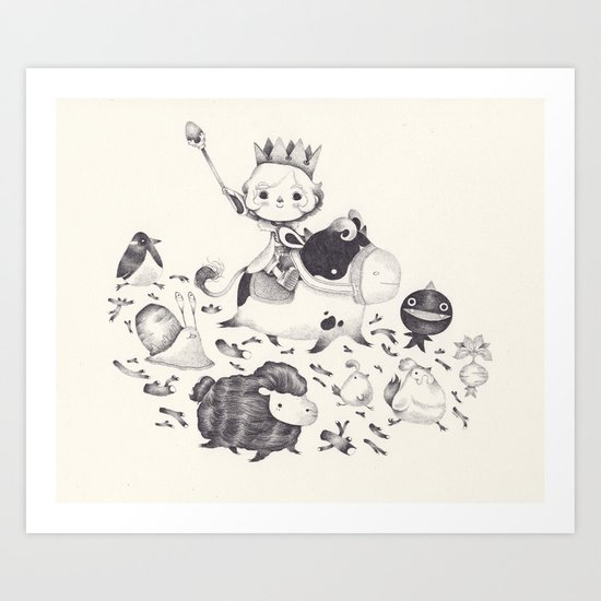 little king's story Art Print