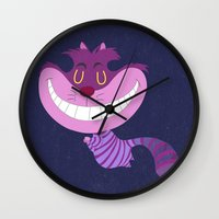 cheshire Wall Clocks featuring Cheshire by Rod Perich
