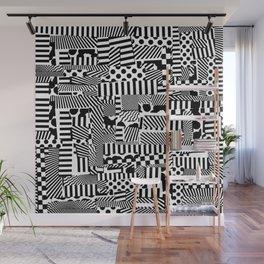 Halftone Dazzle Wall Mural