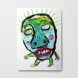 No quiero causar sufrimiento (I do not want to cause suffering) Metal Print
