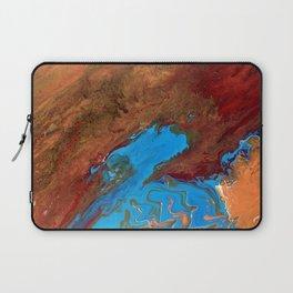 Arizona Agate Slab Laptop Sleeve