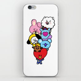 BT21 Characters iPhone Skin