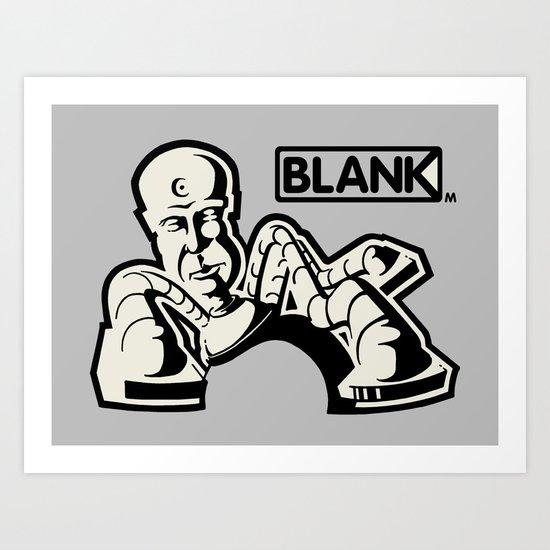 BLANKM GEAR - KRYLONMAN T SHIRT Art Print