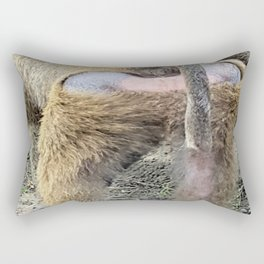Monkey Butt Rectangular Pillow