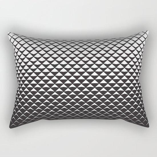 Fade to Grey Rectangular Pillow