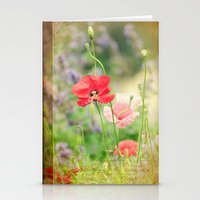 notebook Stationery Cards featuring A gardeners notebook by Wood-n-Images