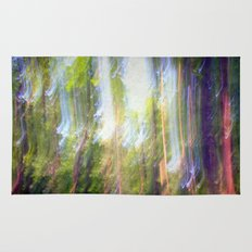 Sun shower in the Fairy Forest Rug