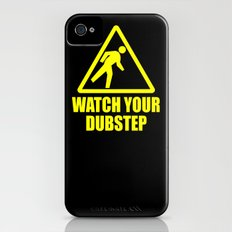 watch your dubstep v2 iPhone (4, 4s) Slim Case