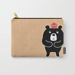 Apple Bear Carry-All Pouch