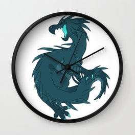 Chupacabra sighting Wall Clock