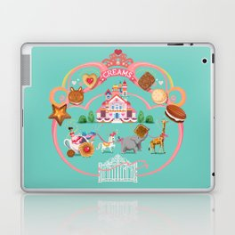 Cookies and Cream, Biscuits and Tea. Laptop & iPad Skin
