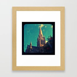 Going to the Chapel Framed Art Print