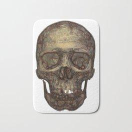 Golden Skull Bath Mat