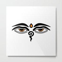 buddha eyes Metal Print