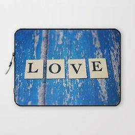 blue love Laptop Sleeve