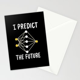 I Predict The Future For Machine Learning Stationery Cards