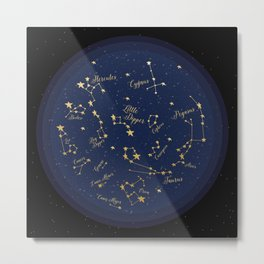 Constellations Metal Print
