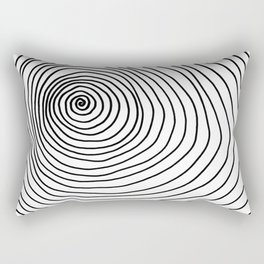 Spiral Rectangular Pillow