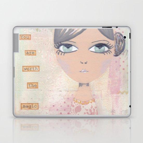 You are worth the magic Laptop & iPad Skin