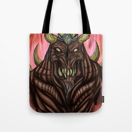 Fire Demon Tote Bag