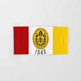 flag of San Diego Hand & Bath Towel