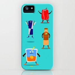 Mr. Juice & Co. iPhone Case