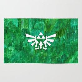 Zelda Triforce Painting Rug