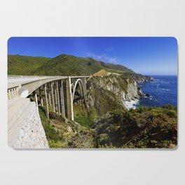 Bixby creek bridge, Big Sur, CA. Cutting Board